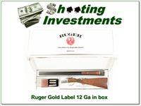 Ruger Gold Label 12 Gauge 28in in box!!