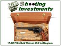 Smith & Wesson 29-2 44 Mag 8 3/8in Exc Cond in wooden case
