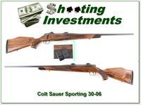 Colt Sauer Sporting 30-06 3 magazine Exc Cond!
