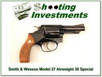 Smith & Wesson Model 37 Airweight 38 Special 3in