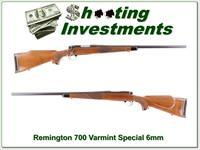 Remington 700 6mm Varmint Special early Pressed Checkering