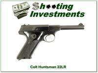 Colt Huntsman 5in early 1956 22LR
