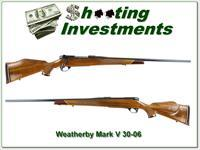 Weatherby Mark V Deluxe 9-Lug 30-06 near new!