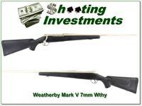 Weatherby Mark V Stainless 7mm Wthy Mag