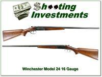 Winchester Model 24 SxS 16 Gauge made in 1947