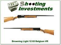 Browning A5 Light 12 65 Belgium Blond collector!