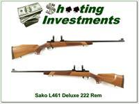 Sako Vixen L461 Deluxe 222 Remington collector!