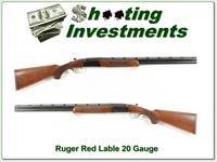 Ruger Red Label 20 Gauge 26in Full and Mod Exc Cond!