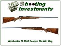 Winchester 70 Pre-64 1952 custom 264 Win Mag 28in