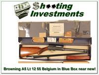 Browning A5 Light 12 55 Belgium in BLUE BOX!