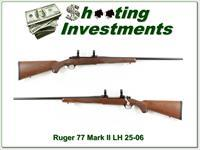Ruger 77 Left Handed 25-06 near new!
