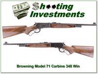 Browning Model 71 Deluxe Carbine unfired XX Wood!