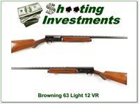 Browning A5 Light 12 63 Belgium Vent Rib!