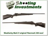 Weatherby Mark V original Fibermark 340 looks unfired!