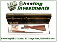 Browning BSS Sporter 12 gauge NIB Unfired and Perfect!