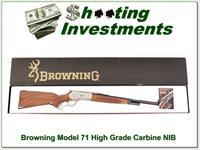 Browning Model 71 348 Win 20in Carbine HIGH GRADE NIB!