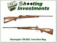 Remington Model 700 BDL 7mm Remington Magnum