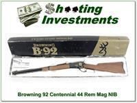 Browning Model 92 Centennial 44 mag NIB