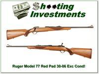 Ruger 77 Red Pad 30-06 Exc Cond!