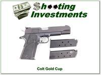 Colt Gold Cup 45 ACP 3 magazines