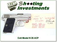 Colt Model N 1908 25 ACP made in 1920