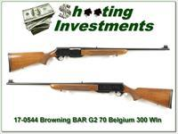 Browning BAR Grade II 70 Belgium 300 Win Mag