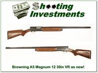 Browning A5 12 Magnum 30in VR Japan near new!