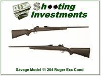 Savage Model 11 FNS in 204 Ruger Exc Cond