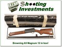 Browning A5 Magnum 12 30in VR Exc Cond
