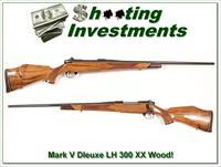 Weatherby Mark V Deluxe LH 300 Wthy Mag Exc Wood!