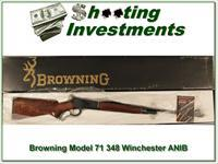 Browning Model 71 348 Winchester ANIB