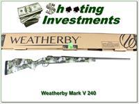 Weatherby Mark V 240 Altitude Ultra Lightweight NIB!