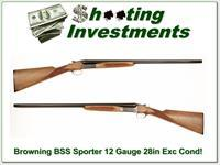 Browning BSS Sporter 12 Gauge Exc Cond!