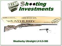 Weatherby LH Mark V Ultra-Light 6.5-300 factory new!