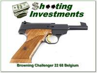 Browning Challenger 4.5in 1968 Belgium Exc Cond!
