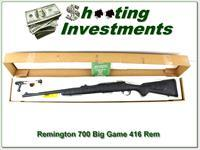Remington 700 Big Game model in 416 Rem Mag ANIB
