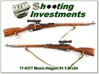Mosin-Nagant 91 Sniper Rifle
