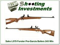 Sako Forester 243 L579 Bofers Steel!