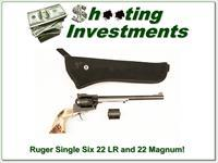 Ruger Single Six 9.5 in 22LR and 22 Magnum cylinders