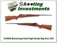 Browning A-bolt Big Horn 270