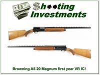 Browning A5 67 Belgium 20 Gauge 26in VR IC Blond!