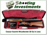 Caesar Guerini Woodlander 20 Ga in case