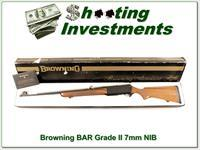 Browning BAR Grade II 70 Belgium 7mm unfired in box!