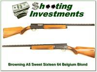 Browning A5 Sweet Sixteen 64 Belgium Blond!