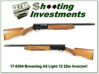 Browning A5 Light 12 hard to find 22in Invector barrel