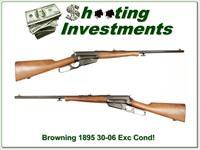 Browning 1895 30-06 Lever Action as New!