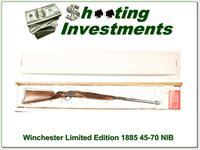 Winchester 1885 Limited Edition 45-70 NIB 28in XX Wood!