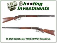Winchester 1894 Deluxe Takedown 1896 30 WCF