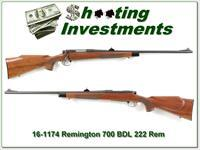 Remington 700 BDL 222 Remington Exc Cond!