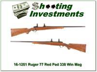 Ruger 77 Red Pad 338 Win Mag Exc Cond!